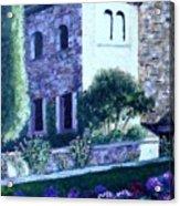 Castle Sestri Levante Acrylic Print
