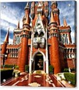 Castle Taman Mini Indonesia Indah  Acrylic Print