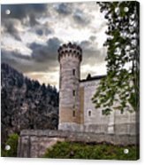 Castle Tower Acrylic Print