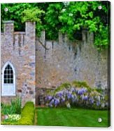Castle Wall At The Highlands Acrylic Print