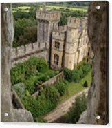 Castle Within A Frame Acrylic Print
