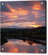 Castlemaine December Dawn Acrylic Print