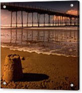 Castles In The Sand Acrylic Print