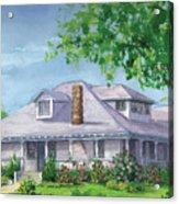 Castro House Acrylic Print