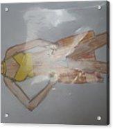 Casual Wear Fashion Sketch Acrylic Print