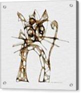 Cat 3672 Acrylic Print