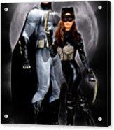 Cat And Bat Acrylic Print