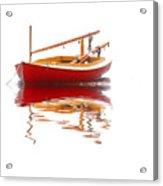 Cat Boat Acrylic Print