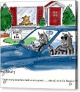 Cat Burglers Acrylic Print
