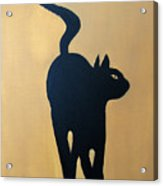 Cat Dance..... Optical Illusion Acrylic Print