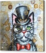 Cat In The Hat Acrylic Print