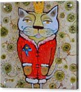 Cat-king Acrylic Print