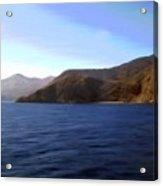 Catalina Shoreline Acrylic Print