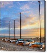 Catamarans In The Sun Acrylic Print