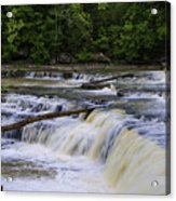 Cataract Falls Phase 1 Acrylic Print
