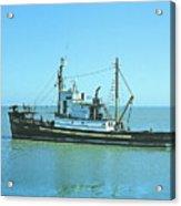 Catch Boat Allen Cody For Del Monte Fishing Co. Taken On July 5  Acrylic Print