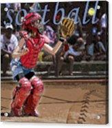 Catch It Acrylic Print by Kelley King