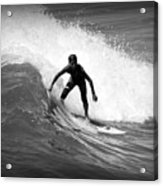 Catching A Wave Acrylic Print