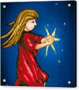Catching Moonbeams Acrylic Print