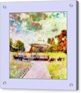 Catching Rays Acrylic Print