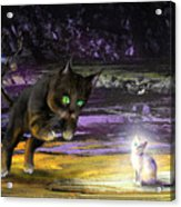 Catechismic Apparition Acrylic Print