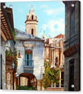 Catedral De La Habana Acrylic Print