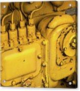 Caterpillar D2 Bulldozer 06 Acrylic Print