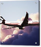 Cathay Pacific Airbus A330-343 Acrylic Print