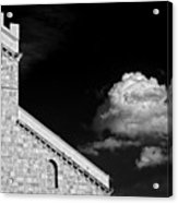 Cathedral And Cloud Acrylic Print