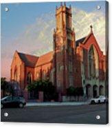 Cathedral At Dawn Acrylic Print