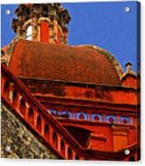 Cathedral Dome With Blue Acrylic Print