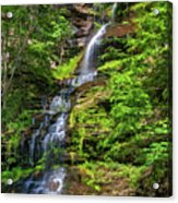 Cathedral Falls 2 - Paint Acrylic Print