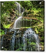 Cathedral Falls 4 - Paint Acrylic Print