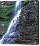 Cathedral Falls In Spring Acrylic Print