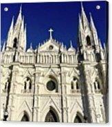 Cathedral In El Salvador Acrylic Print