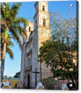 Cathedral In Valladolid Acrylic Print