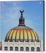 Cathedral Of Art In Mexico Acrylic Print