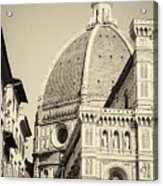 Cathedral Of Brunelleschi In Florence Acrylic Print