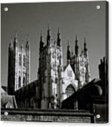 Cathedral Of Canterbury Acrylic Print
