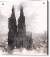 Cathedral Of Cologne Acrylic Print