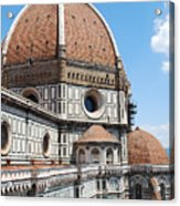 Cathedral Of Florence Acrylic Print
