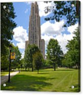 Cathedral Of Learning University Of Pittsburgh Acrylic Print