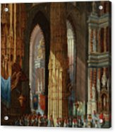 Cathedral Of San Miguel Acrylic Print