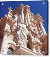 Cathedral Of Siracusa Acrylic Print