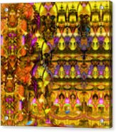 Cathedral Of The Mind No 57 Acrylic Print