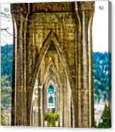 Cathedral Park Acrylic Print