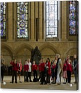 Cathedral People Acrylic Print