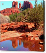 Cathedral Reflections Acrylic Print