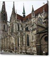 Cathedral Regensburg Acrylic Print