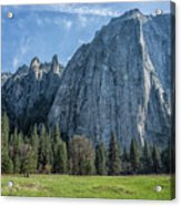 Cathedral Rock And Spires Acrylic Print